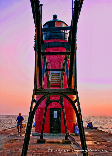 Lighthouse South Haven MI